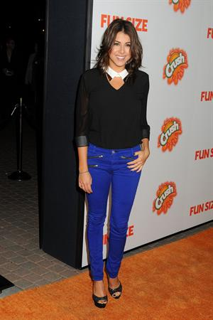 Daniella Monet Fun Size premiere in LA 10/25/12