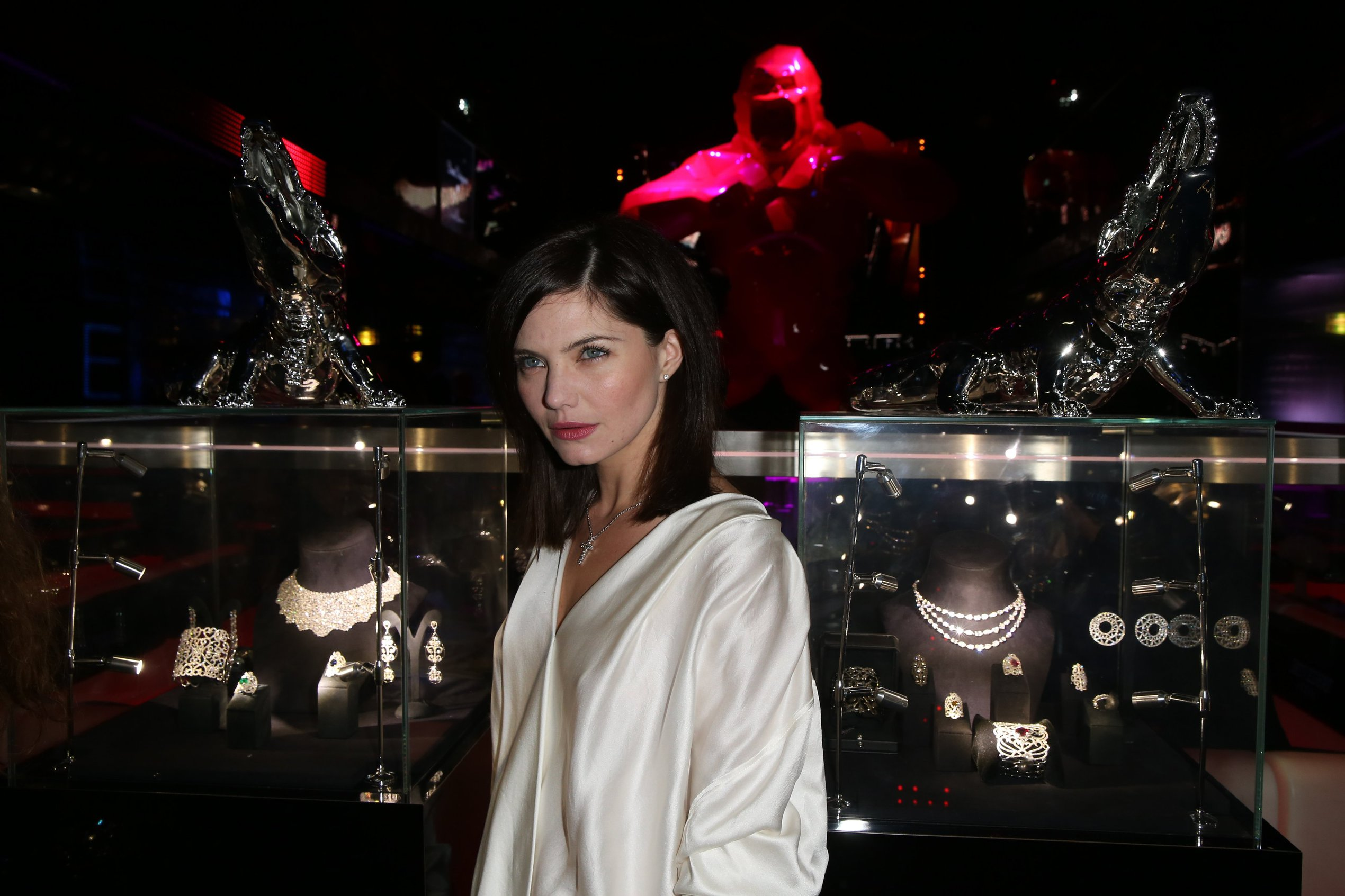 Delphine Chaneac Jeweler Edouard Nahum 'Maya' New Collection Launch in Paris (Dec 4, 2012)