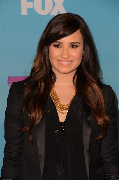 Demi Lovato FOX's The Factor Season Finale Night 1 in LA 12/19/12