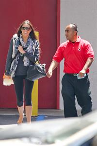 Demi Moore Leaving her pilates class after a workout in Hollywood (May 15, 2013)