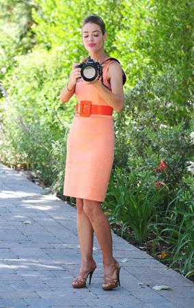 Denise Richards - Posing in Beverly Hills - June 12, 2012