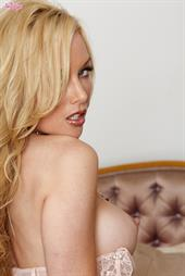 Kayden Kross - stripping off lingerie for Twisty's