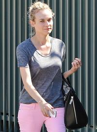 Diane Kruger at The Grove in LA 3/12/13