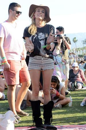 Diane Kruger attends the H&M Loves Music Coachella 2013 kick-off Event at Merv Griffin Estate in La Quinta in April