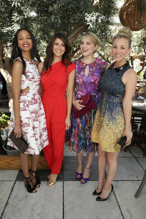Dianna Agron 2nd Annual 25 Most Powerful Stylists Luncheon in West Hollywood, March 13, 2013