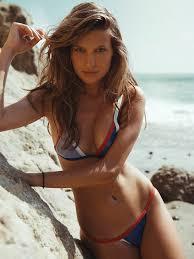 Paige Watkins in a bikini