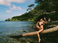 Jenah Yamamoto in a bikini