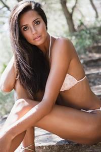 Tyla Carr in a bikini
