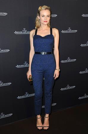 Diane Kruger Jaeger-LeCoultre Place Vendome Boutique Opening (November 20, 2012)