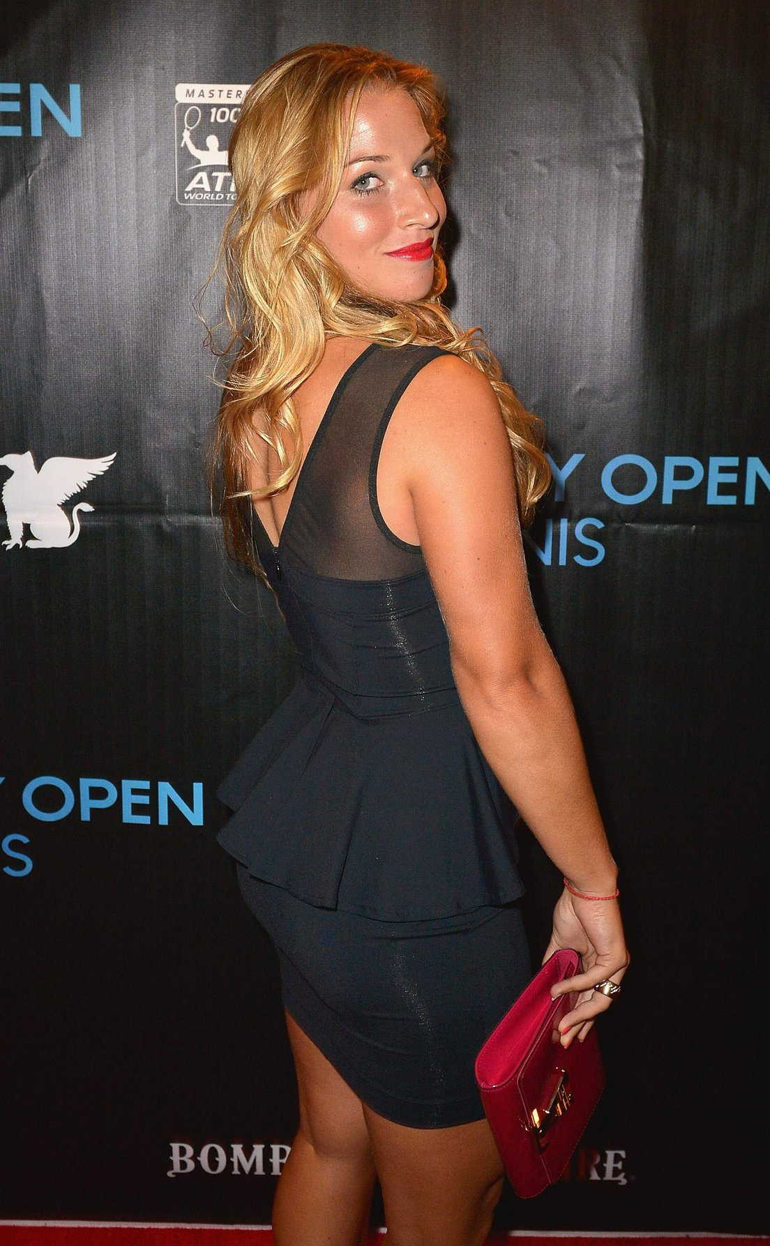 Dominika Cibulkova attends the 2013 Sony Open Player Party at JW Marriott Marquis in Miami