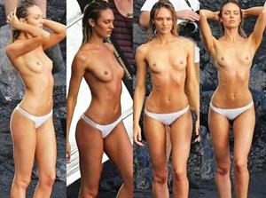 Candice Swanepoel nude paparazzi shots
