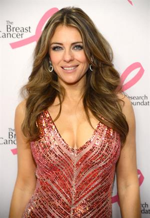 Elizabeth Hurley attends the Breast Cancer Foundation's Hot Pink Party - New York, Apr. 17, 2013