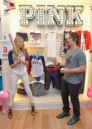Elsa Hosk - Victoria's Secret PINK Southern California Store Opening in Newport Beach (May 31, 2012)