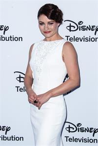 Emilie de Ravin Disney Media Networks International Upfronts at Walt Disney Studios in Burbank - May 19, 2013