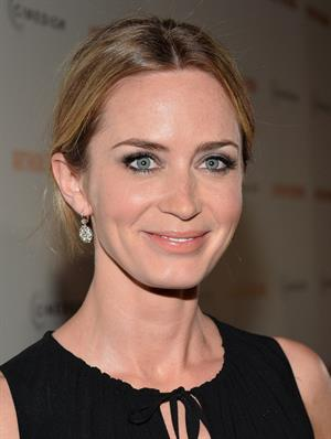 Emily Blunt  Arthur Newman  Los Angeles Premiere -- Hollywood, Apr. 18, 2013