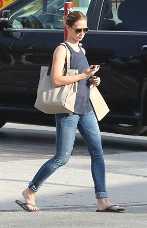 Emily Blunt - Shopping in West Hollywood - August 16, 2012