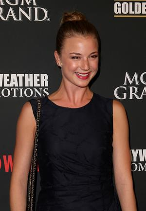 Emily VanCamp – Mayweather vs Alvarez Party 9/14/13