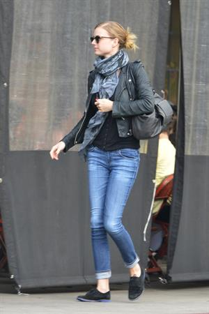 Emily VanCamp out and about in LA on January 27, 2013