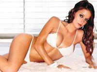 Amber Brkich in lingerie