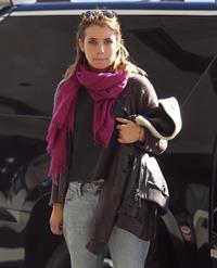 Emma Roberts departing on a flight at LAairport in Los Angeles, California on December 22, 2012