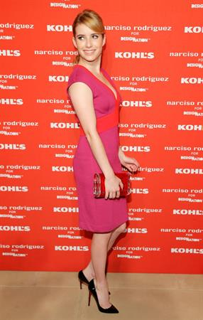 Emma Roberts Narciso Rodriguez Kohl's Collection Launch Party in NY - October 22, 2012