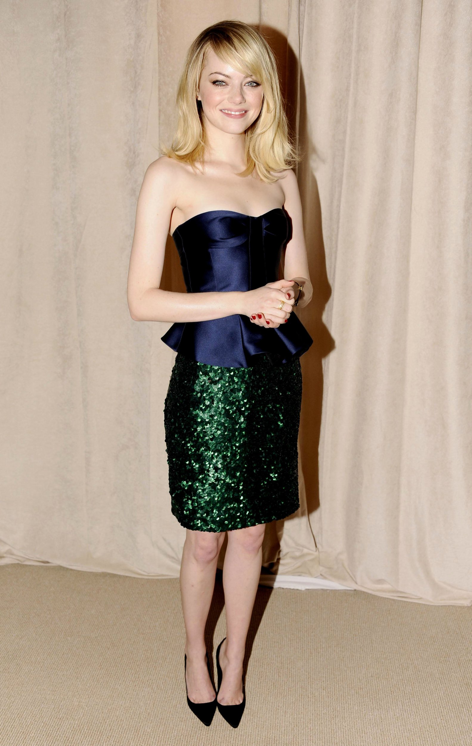 Emma Stone 9th Annual CFDA/Vogue Fashion Fund Awards (November 13, 2012)
