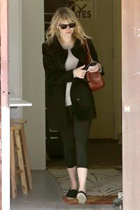 Emma Stone leaving pilates class in LA 11/5/12