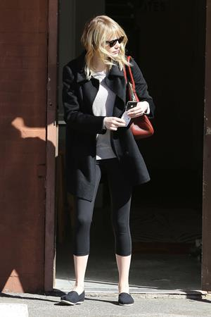 Emma Stone leaving pilates class in LA 11/5/12