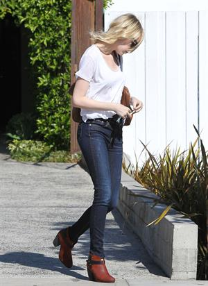 Emma Stone out walking in Hollywood - August 29, 2012