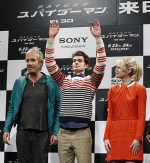 Emma Stone - The Amazing Spider-Man Press Conference Tokyo on June 13, 2012