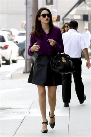 Emmy Rossum in Beverly Hills - October 5, 2012