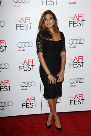 Eva Mendes Holy Motors screening at 2012 AFI Fest in Hollywood 11/03/12