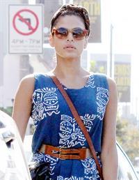 Eva Mendes - Running errands in West Hollywood - August 21, 2012