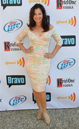 Fran Drescher - At GLAAD's Bravo Top Chef Invasion Benefit Event - Los Angeles on July 29, 2012