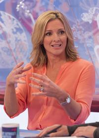 Gabby Logan Loose Women - October 10, 2012