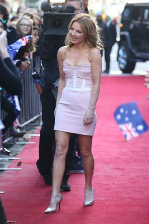 Geri Halliwell Arrives for Australia's Got Talent 02.06.13