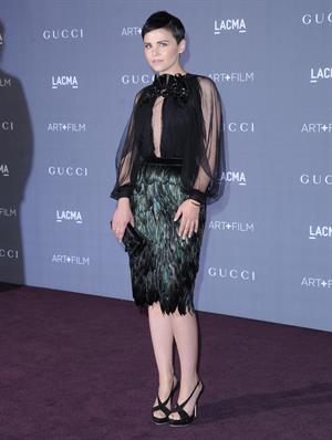 Ginnifer Goodwin 2012 LACMA Art Film Gala in Los Angeles - October 27, 2012