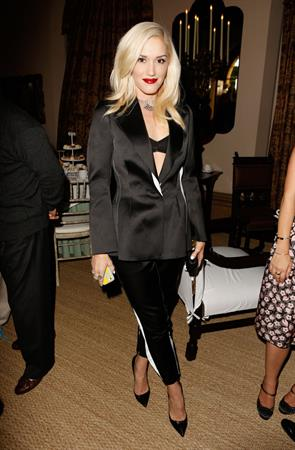 Gwen Stefani CFDA/Vogue Fashion Fund Show held at the Chateau Marmont in West Hollywood, CA. October 12, 2012