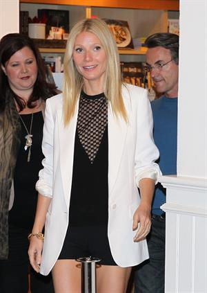 Gwyneth Paltrow Book signing at Williams-Sonoma in Beverly Hills on Apr. 5, 2013