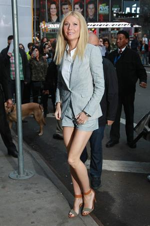 Gwyneth Paltrow at GMA Studios in NYC 4/10/13