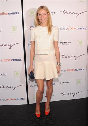 Gwyneth Paltrow Launching the DVD series  The Tracy Anderson Method Pregnancy Project  in New York. Oct. 5, 2012