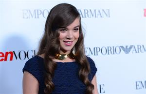 Hailee Steinfeld attends Teen Vogue 10th anniversary Young Hollywood party Beverly Hills 9/27/12