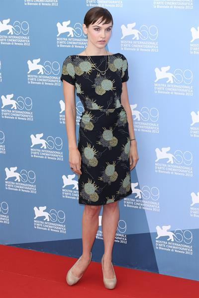 Hallie Elizabeth Newton - At Any Price Photocall - The 69th Venice Film Festival - Aug 31, 2012