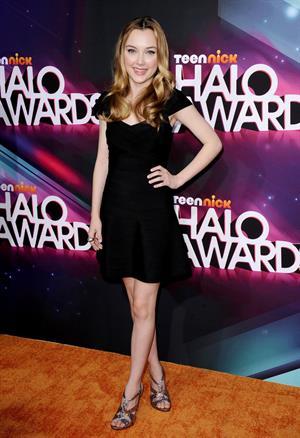 Victory Van Tuyl TeenNick HALO awards in Hollywood 11/17/12