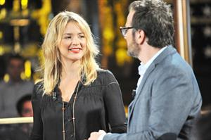 Virginie Efira On the Set of Possible Impossible TV Show on September 19, 2012