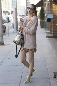 Whitney Port shopping around Beverly Hills Sept 28, 2012