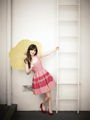 Zooey Deschanel Brian Bowen Smith photoshoot 2012