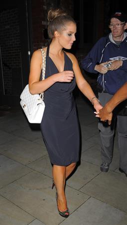 Helen Flanagan - Leaves her Manchester hotel - July 21, 2012