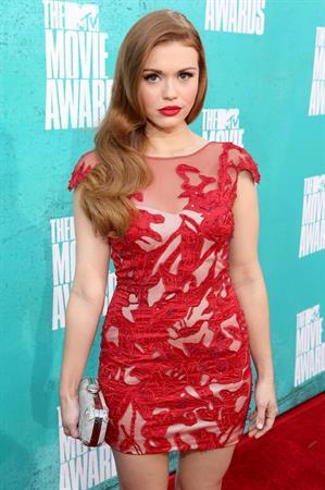 Holland Roden - 2012 MTV Movie Awards in Los Angeles on June 3, 2012