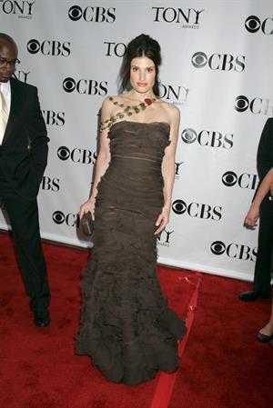 Idina Menzel at 62nd Annual Tony Awards on June 15, 2008